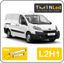 "00-11-121.2 TwinLed Toyota Proace L2H1 12v. std. set <font size=""4"" color=""#5A5097"">TwinLed professional vehicle lighting</font>