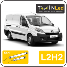 "00-11-122.2 TwinLed Toyota Proace L2H2 12v. std. set <font size=""4"" color=""#5A5097"">TwinLed professional vehicle lighting</font>