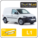 "00-12-111.2 TwinLed Volkswagen Caddy L1 12v. std. set <font size=""4"" color=""#5A5097"">TwinLed professional vehicle lighting</font>