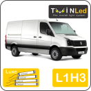 "00-12-213.4 TwinLed Volkswagen Crafter L1H3 12v. luxe set <font size=""4"" color=""#5A5097"">TwinLed professional vehicle lighting</font>