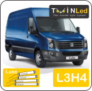 "00-12-234.4 TwinLed Volkswagen Crafter L3H4 12v. luxe set <font size=""4"" color=""#5A5097"">TwinLed professional vehicle lighting</font>