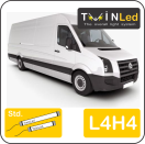 "00-12-244.2 TwinLed Volkswagen Crafter L4H4 12v. std. set <font size=""4"" color=""#5A5097"">TwinLed professional vehicle lighting</font>
