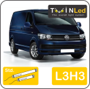 "00-12-333.2 TwinLed Volkswagen Transporter L3H3 12v. std. set <font size=""4"" color=""#5A5097"">TwinLed professional vehicle lighting</font>