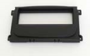 01-06-004.1 1-ISO radio panel Ford (Black) Radio mounting panel ( black )