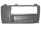 01-06-033.0 2-ISO radio panel Volvo V70/S60 (with removable pocket) Radio mounting panel