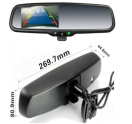 "04-04-020.0 4,3"" high brightness rear view mirror w day / night  HQ spiegel met 4,3"" high bright scherm"